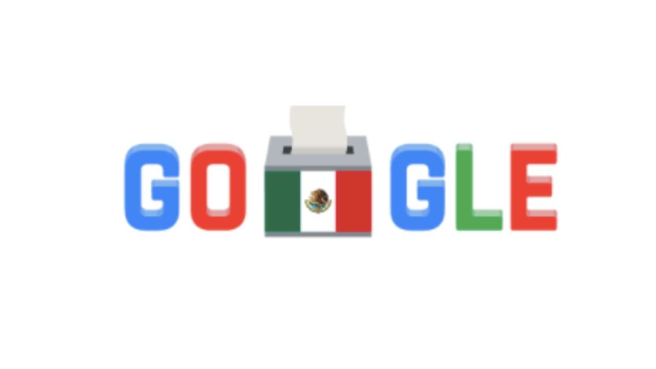 Google dedica doodle a las Elecciones 2021