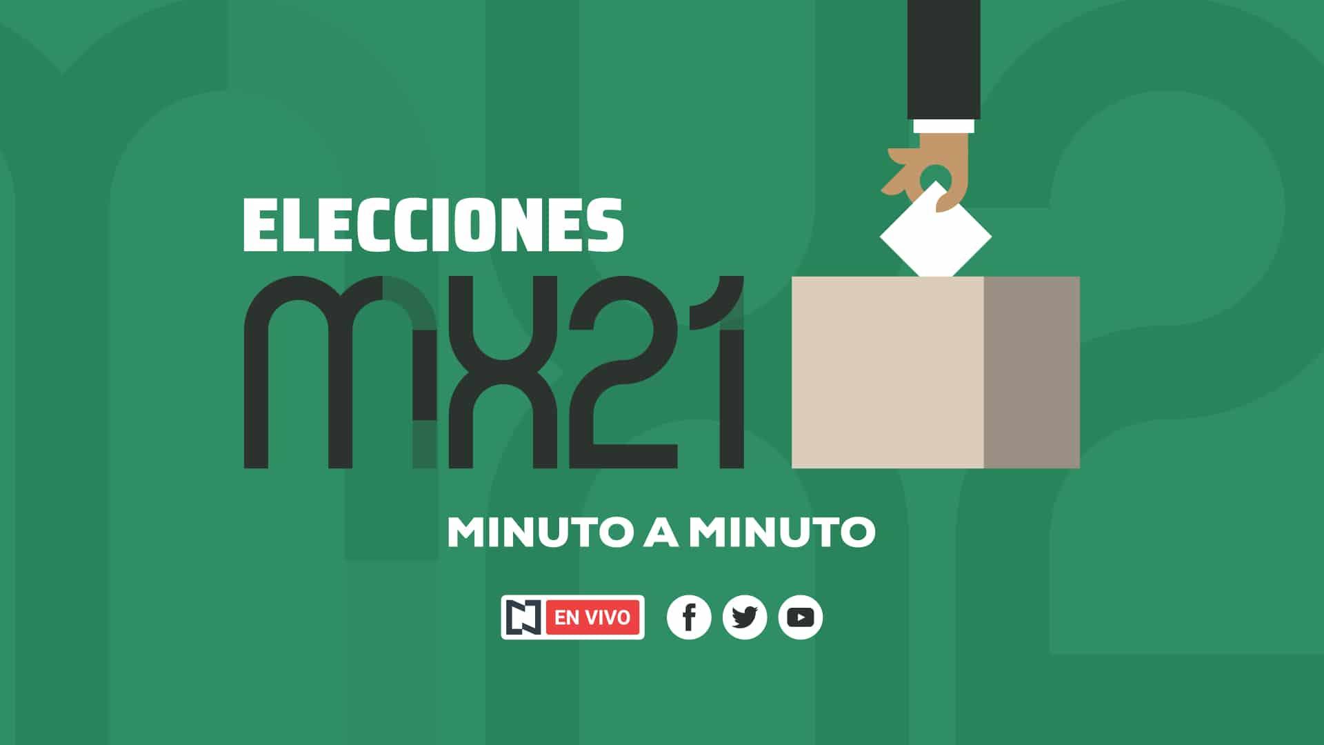 Elecciones 2021 en México, minuto a minuto
