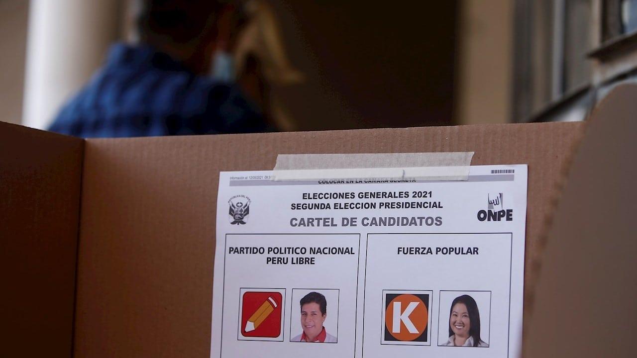 Finaliza-segunda-vuelta-de-elección-presidencial-en-Perú