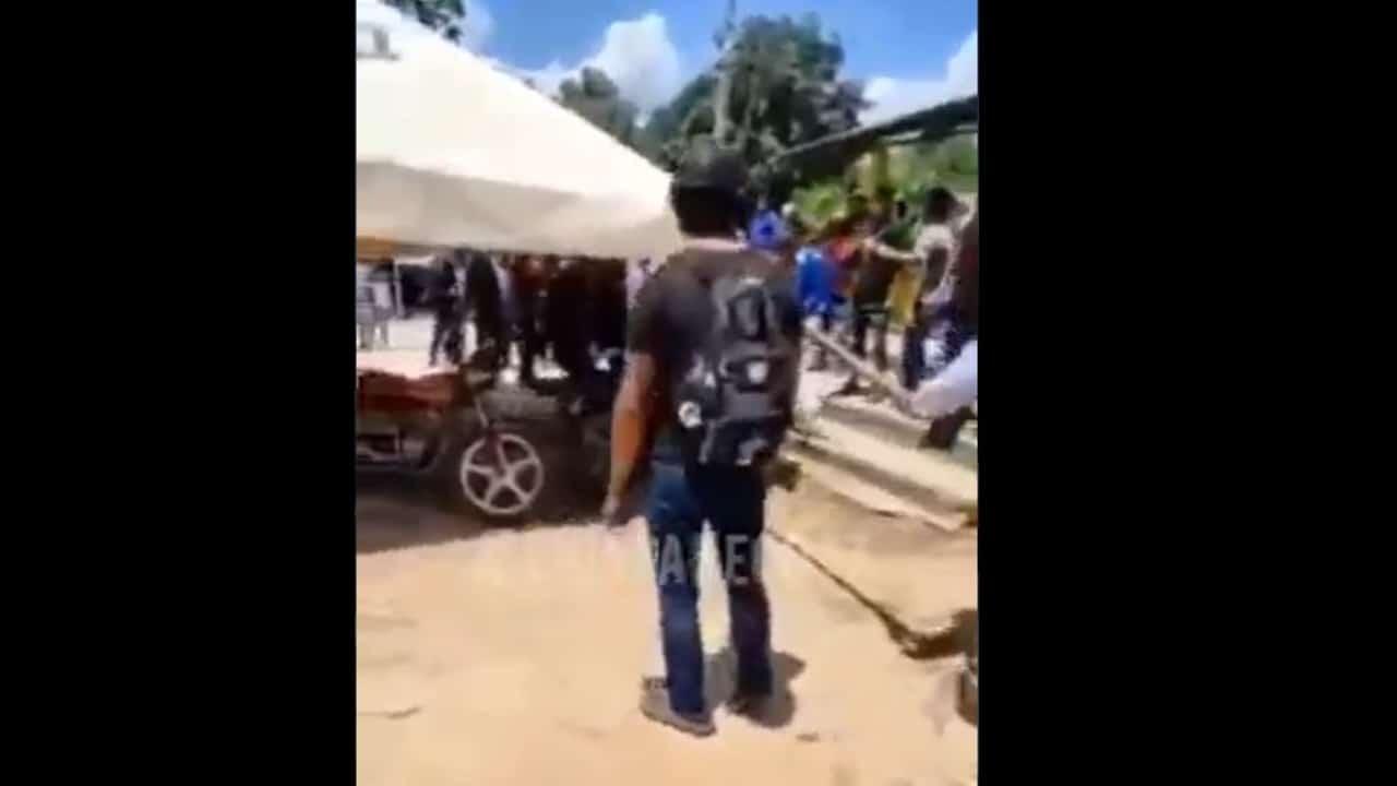 Se enfrentan simpatizantes de Morena y Encuentro Social en Chiapas