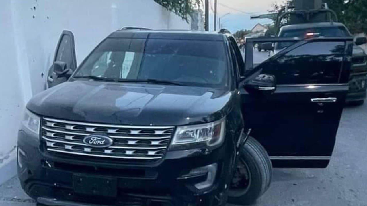 Enfrentamiento en Nuevo Laredo Tamaulipas (FOROtv)