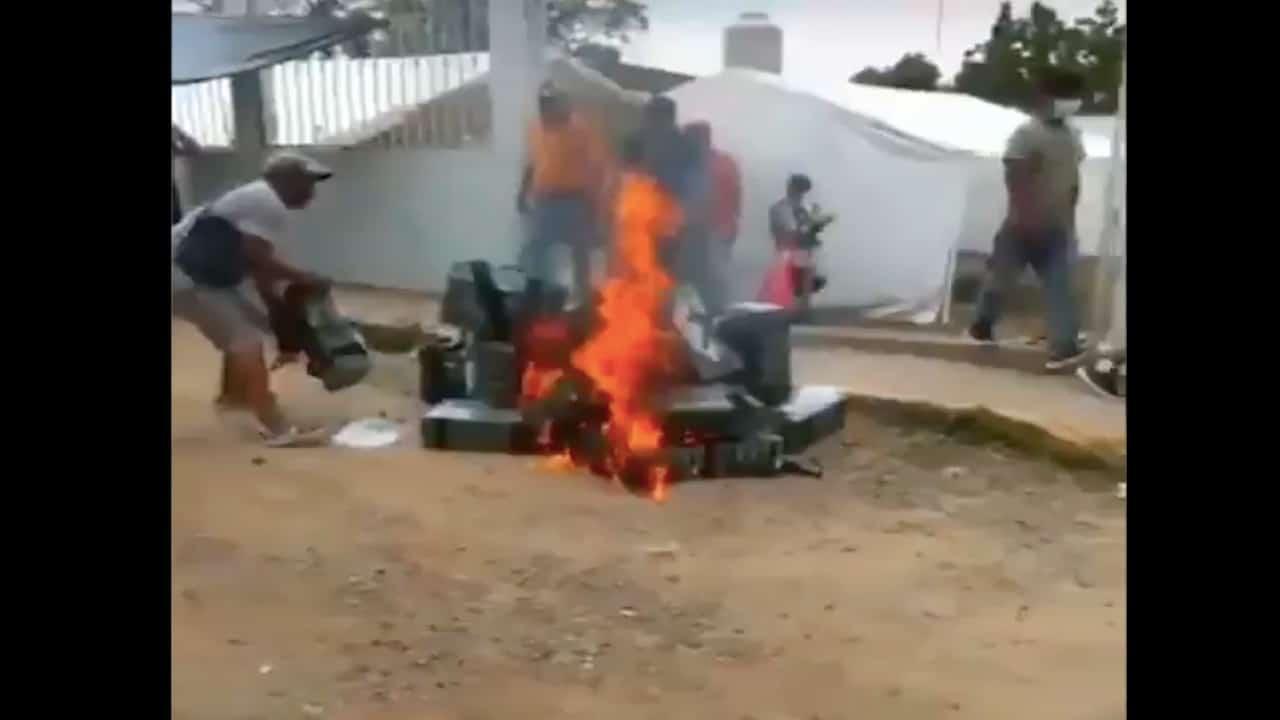 Enfrentamientos y protestas en varios estados por cómputo oficial de las elecciones del 6 junio