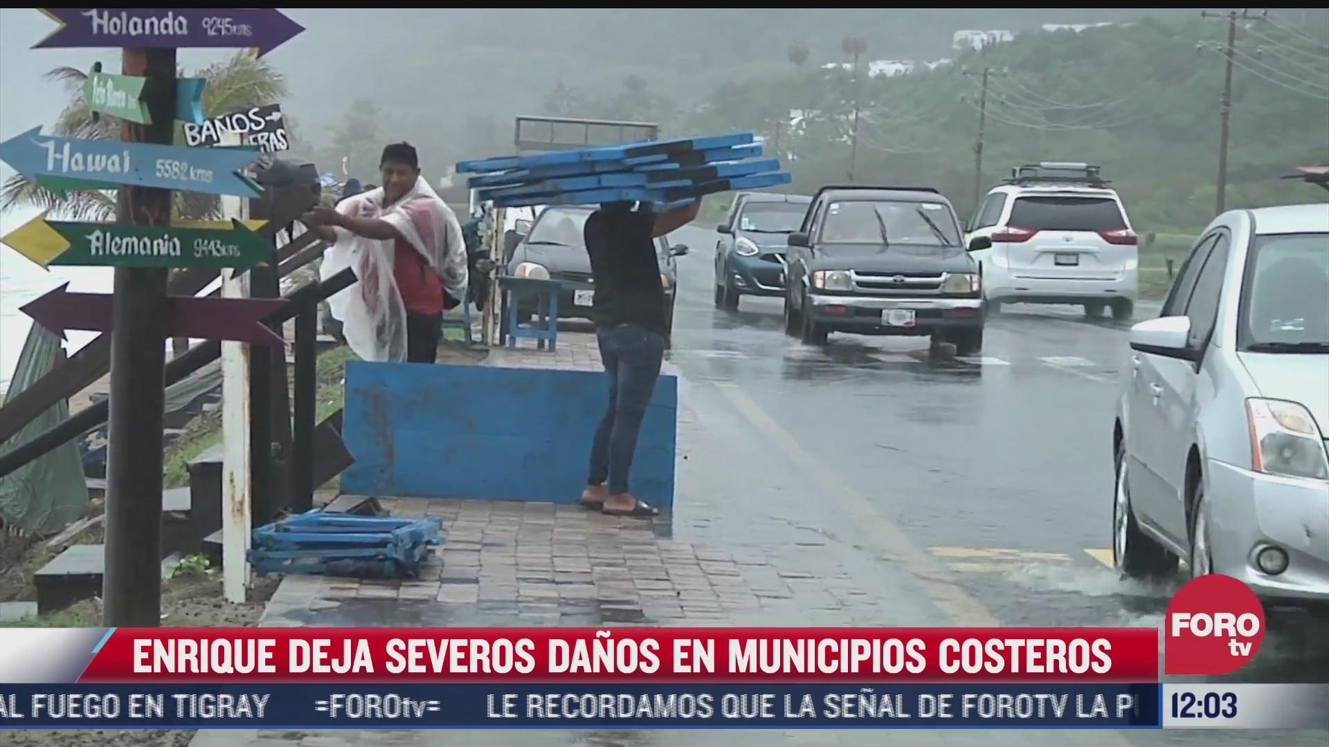 enrique deja inundaciones y afectaciones por intensas lluvias en colima