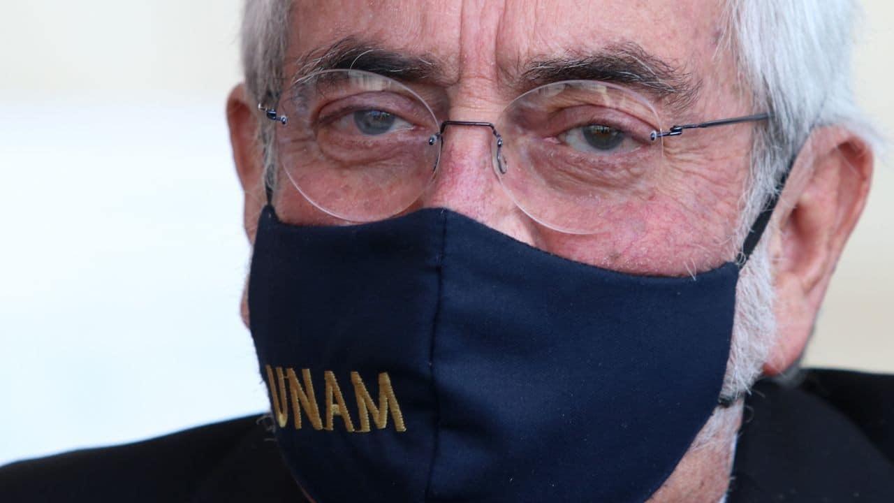 El rector de la UNAM, Enrique Graue Wiechers, 11 de junio de 2021 (Cuartoscuro)