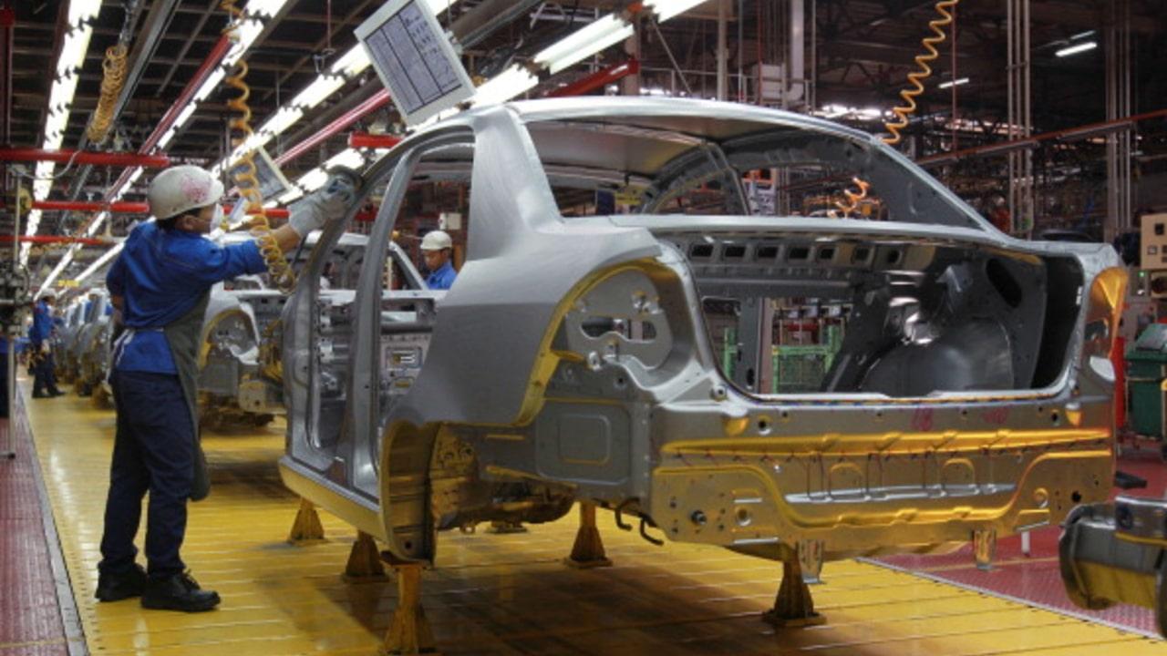 Imagen referencial de una planta automotriz.
