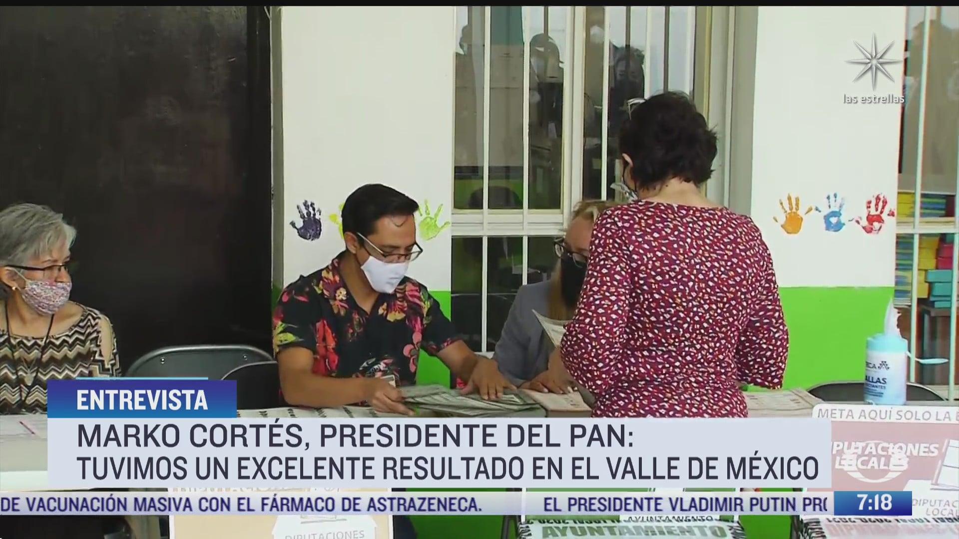 entrevista con marko cortes presidente nacional del pan para despierta