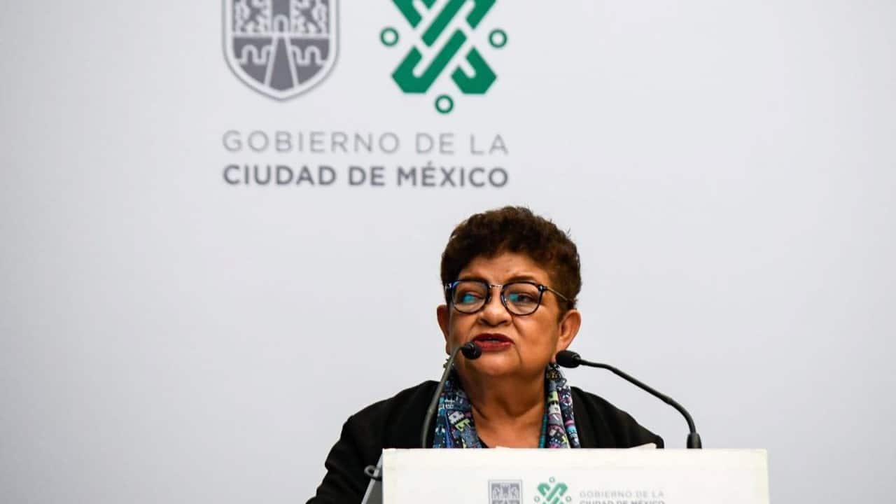 Ernestina Godoy, titular de la Fiscalía General de Justicia de la Ciudad de México (Cuartoscuro)