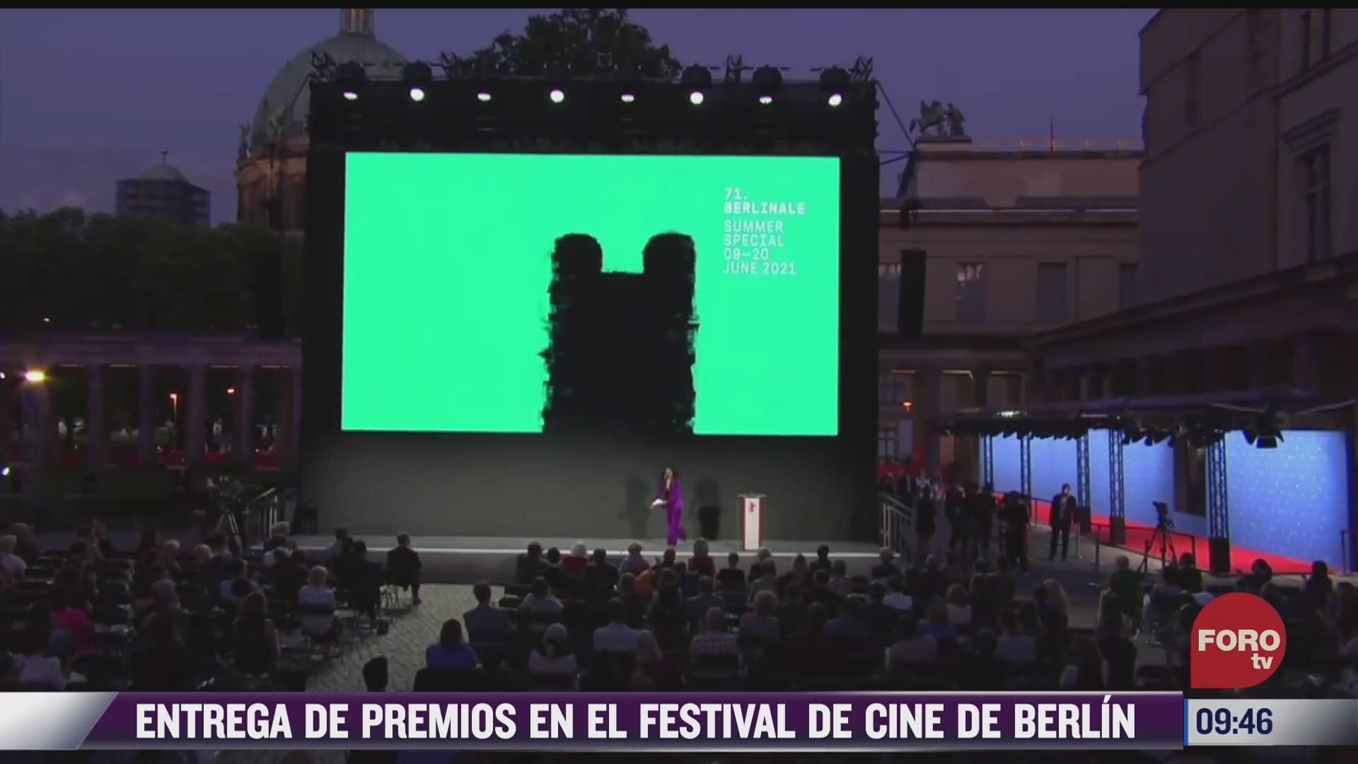 espectaculosenexpreso entrega de premios en el festival de cine de berlin