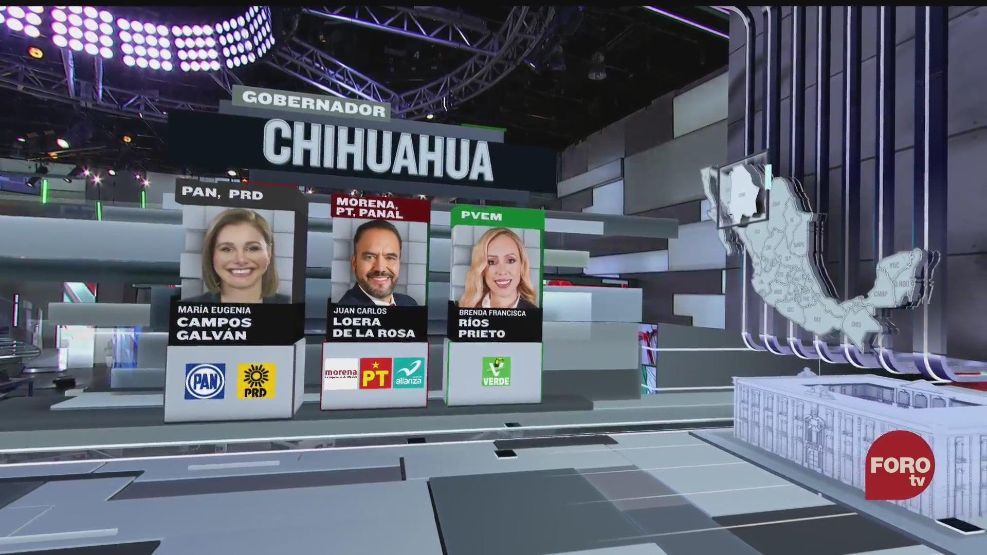 estos son los candidatos a la gubernatura de chihuahua