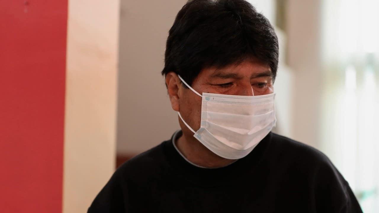 El expresidente de Bolivia Evo Morales (EFE)