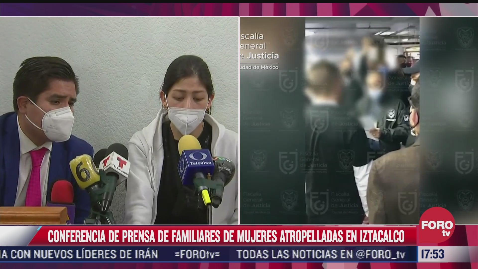 familiares de mujeres atropelladas en iztacalco solicitan atencion medica especializada