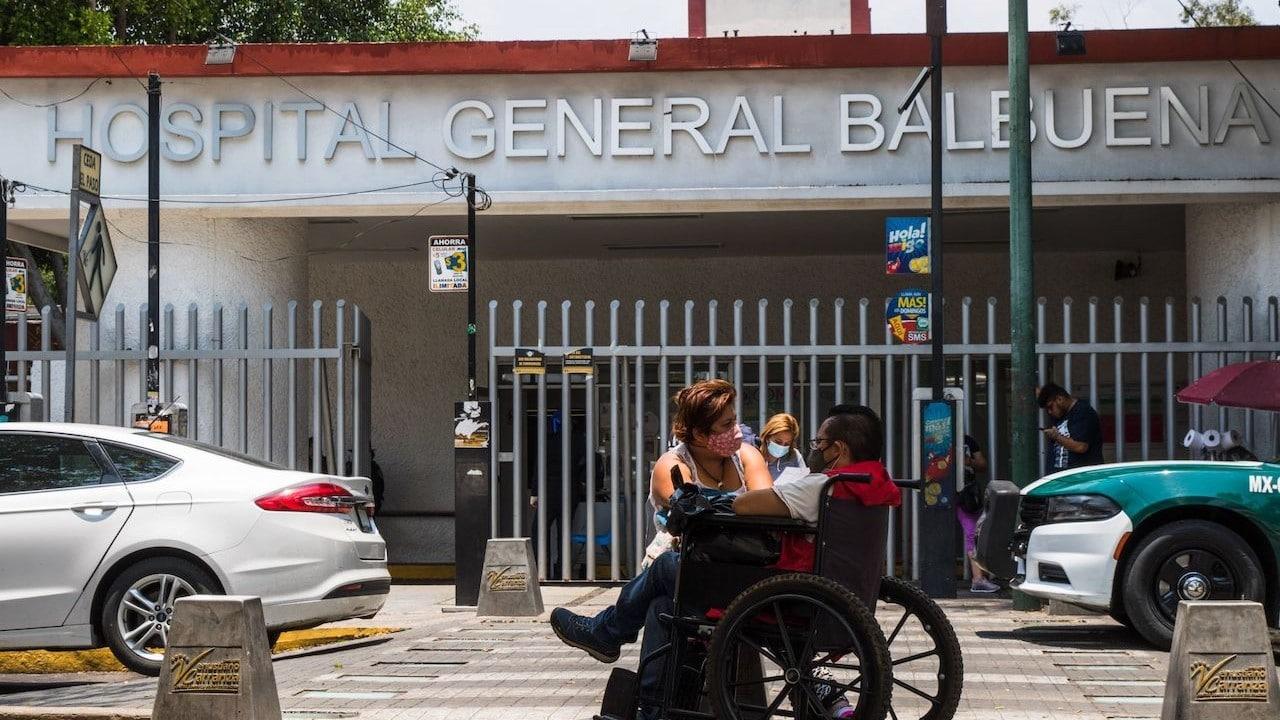 Inmediaciones del Hospital Balbuena, en CDMX (Cuartoscuro)