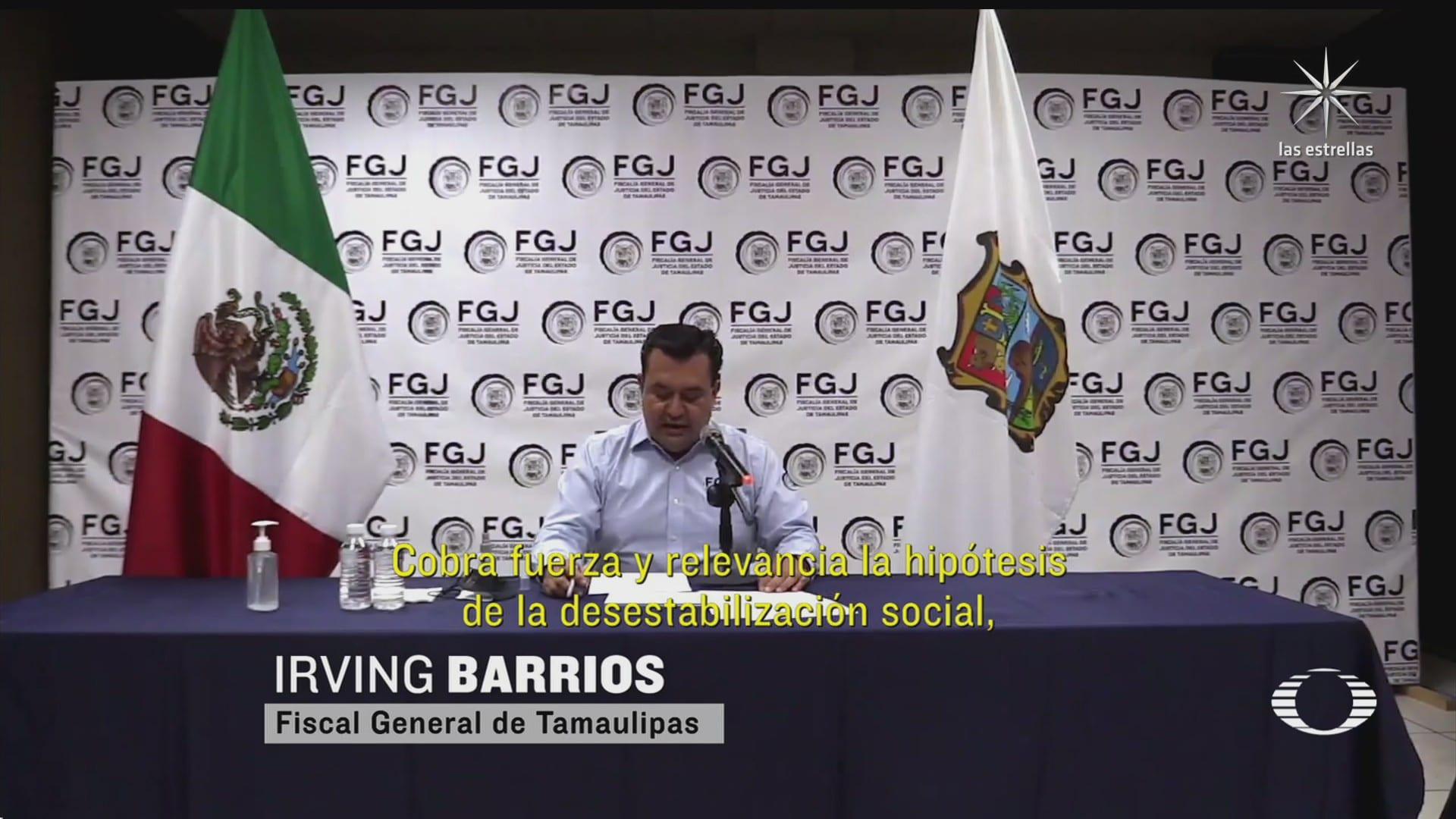 fiscalia da avances en la investigacion del asesinato de 15 civiles en reynosa tamaulipas