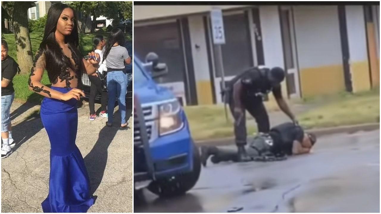 Flint, Michigan, policía, tirote, captura de pantalla