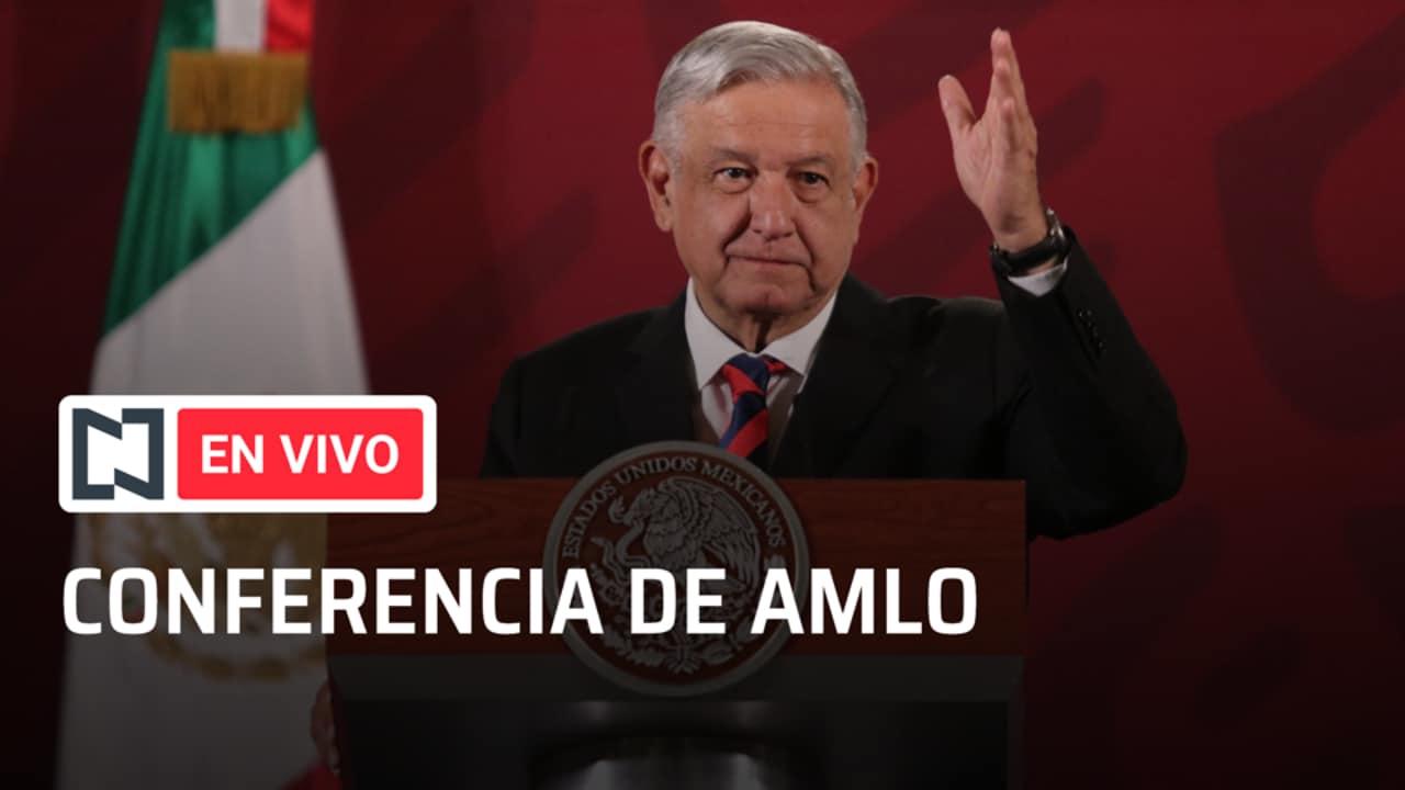 El presidente Andrés Manuel López Obrador en la conferencia de prensa matutina. (Foto: Noticieros Televisa)