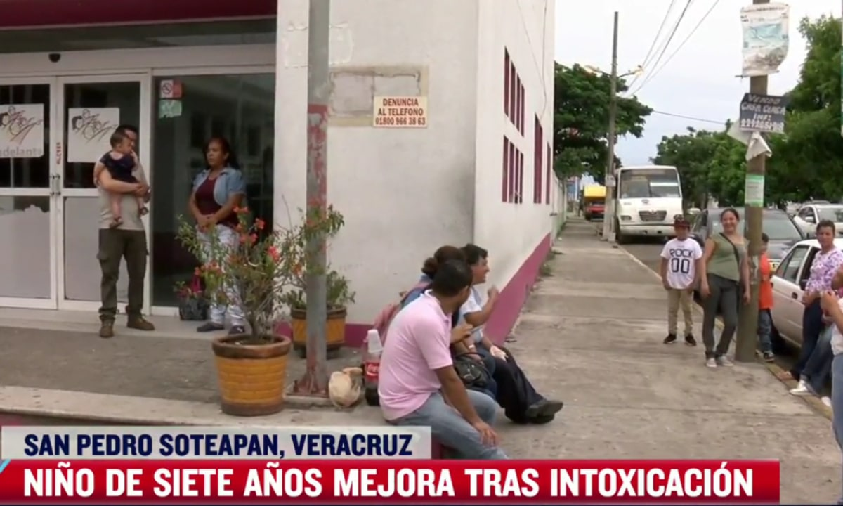 Identifican sustancia que envenenó a niños de Veracruz
