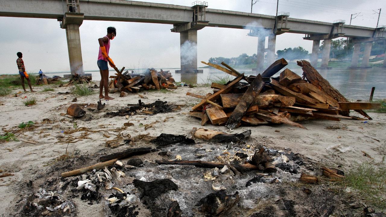 cremación, Ganges, coronavirus, cadáveres