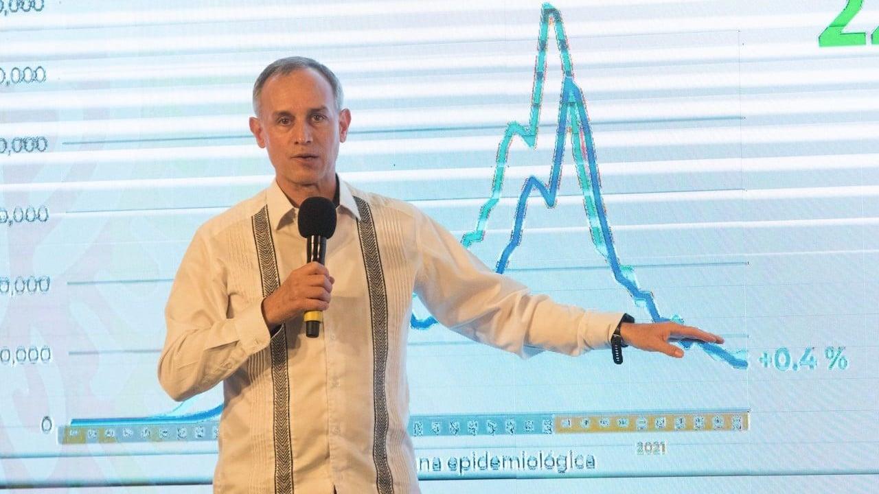 El subsecretario de Prevención y Promoción de la Salud, Hugo López-Gatell, jueves 10 de junio de 2021 (Cuartoscuro)