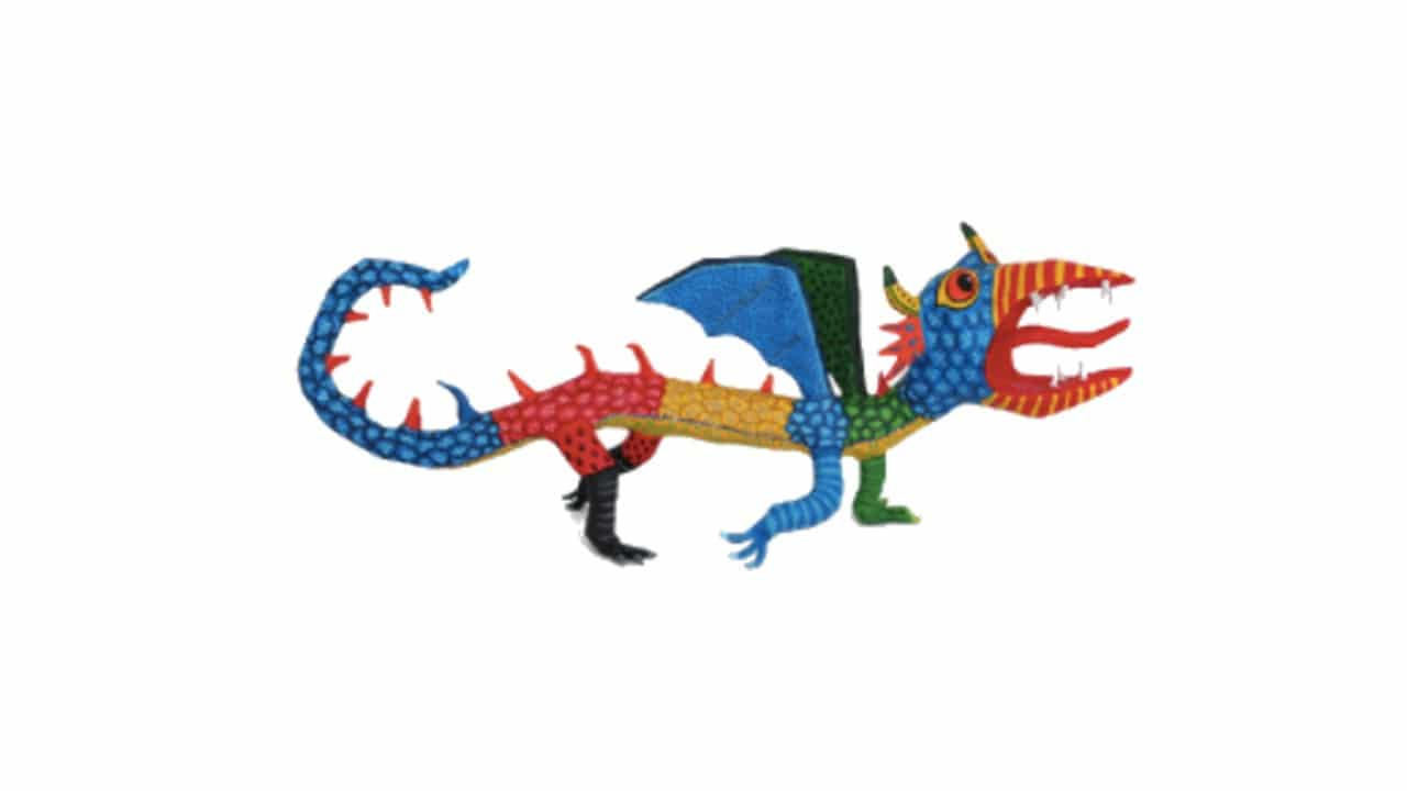 Google dedica su doodle a los alebrijes de Pedro Linares