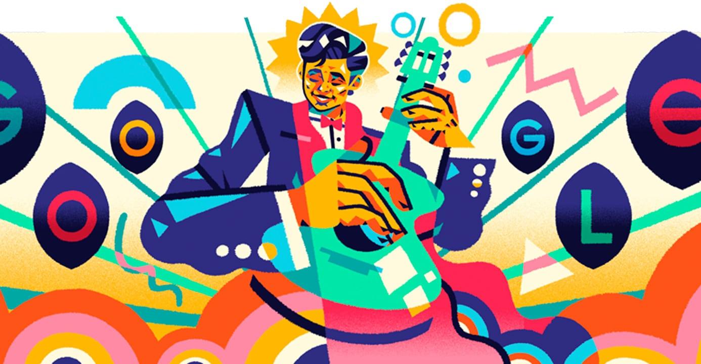 Google dedica su doodle a Roberto Cantoral este 7 de junio de 2021