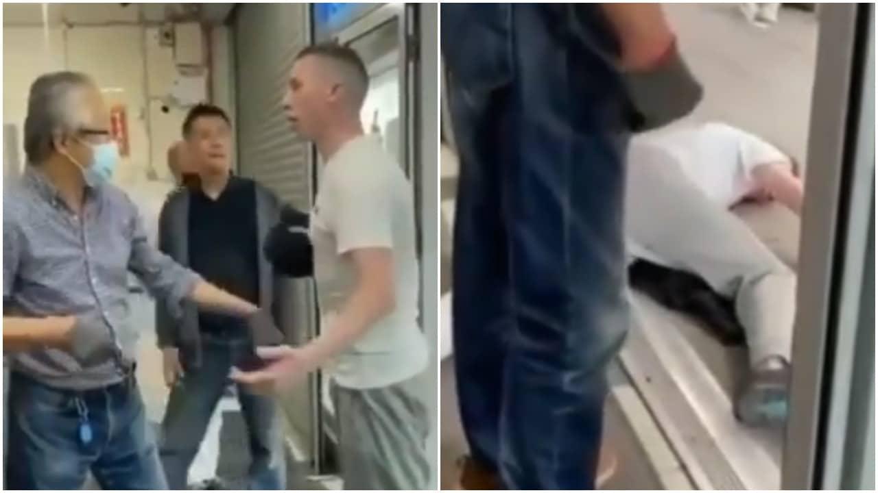 hombre de origen asiático noquea a joven en tienda de Dublín, Irlanda