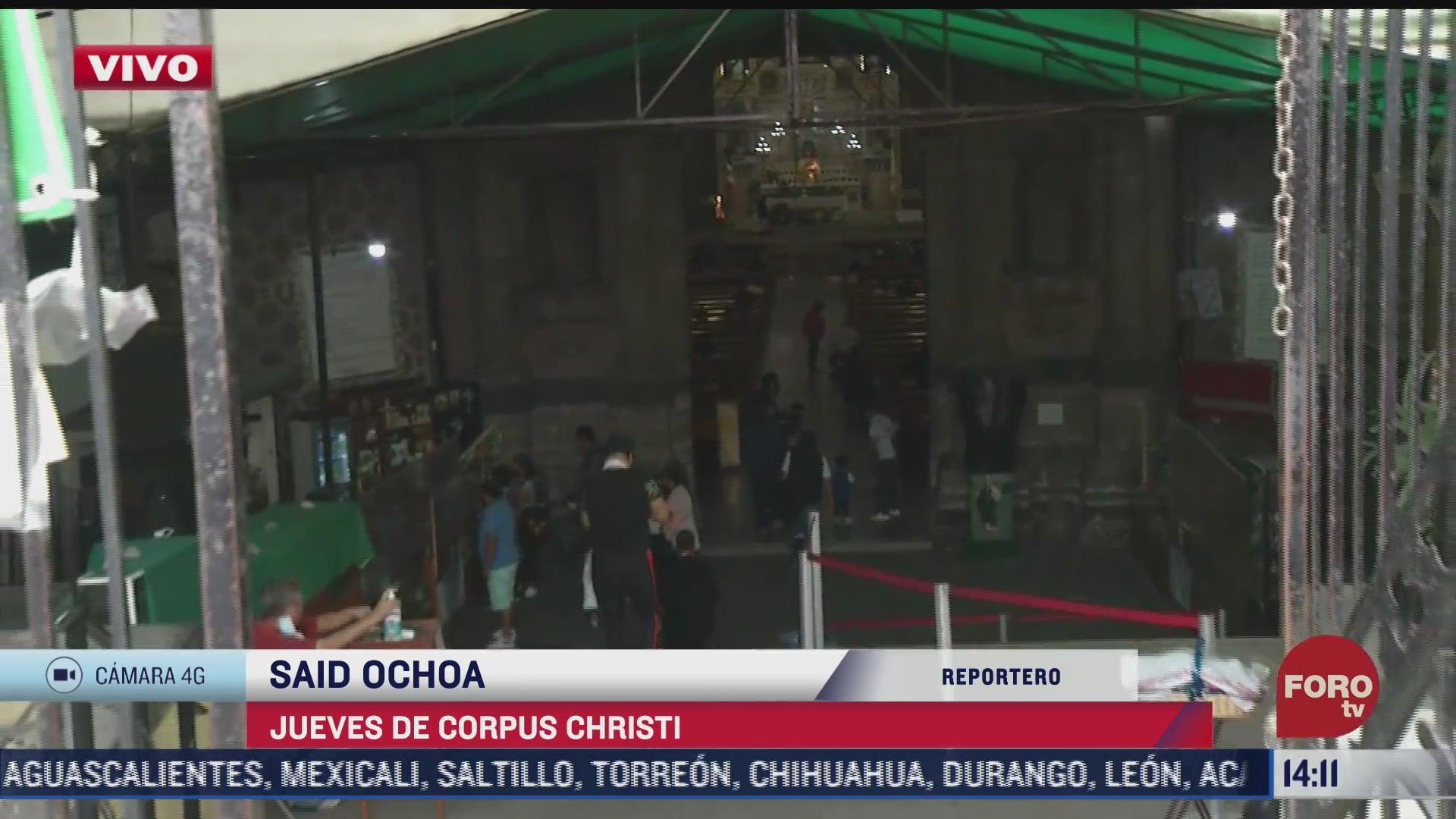 iglesia catolica celebra jueves de corpus christi