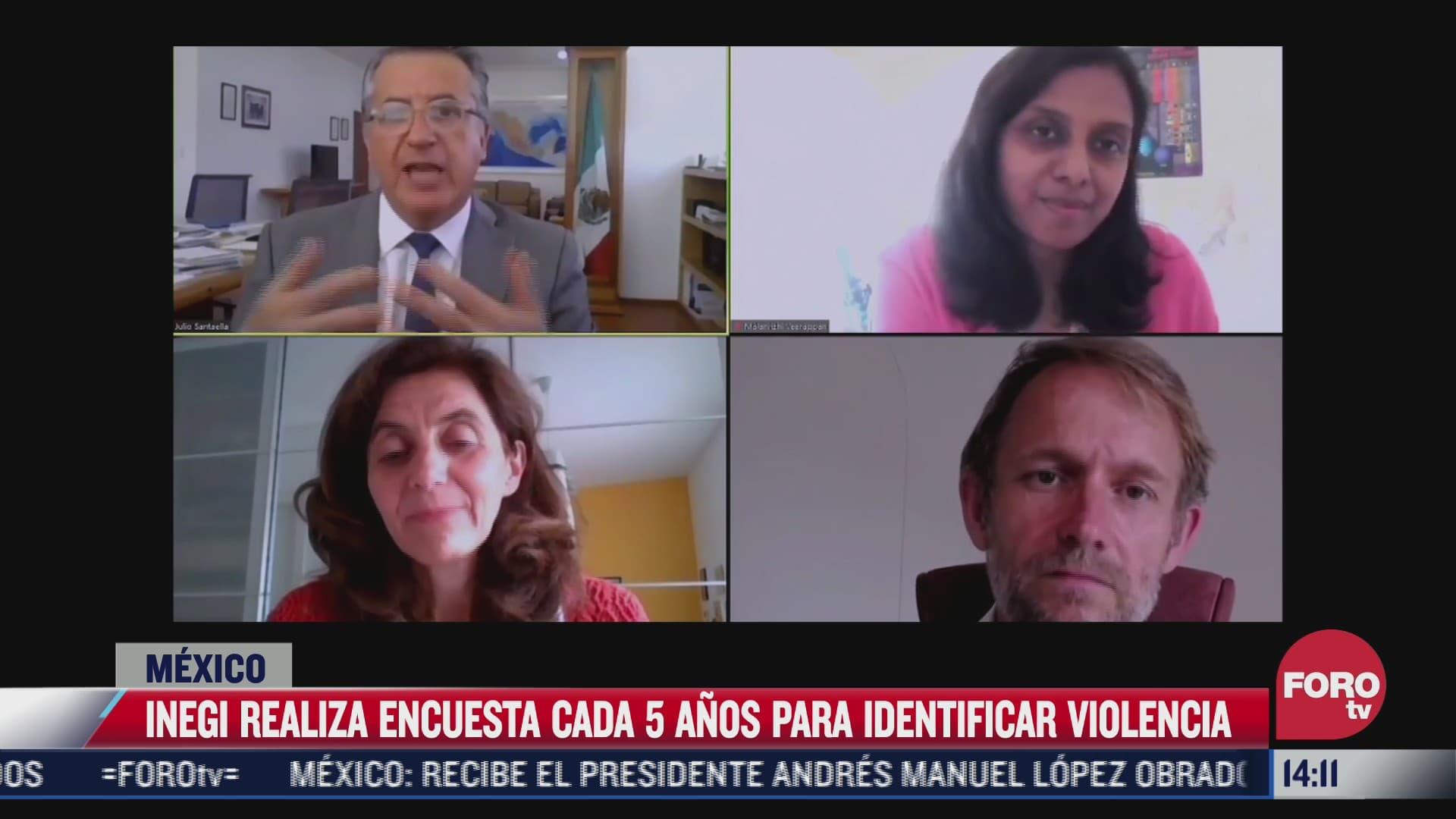 inegi realiza encuesta para conocer mas sobre la violencia contra la mujer