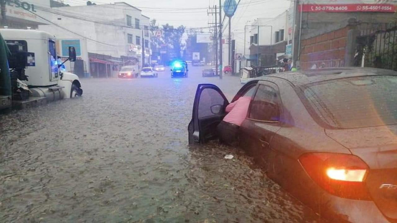 Inundaciones y sistema de tormentas eléctricas afectan gran parte de la República Mexicana