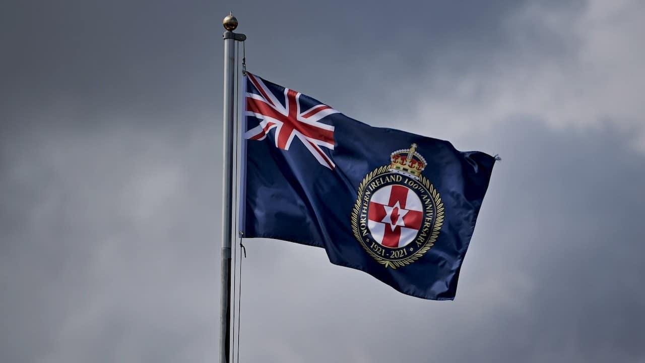 Bandera de Irlanda del Norte (Getty Images)