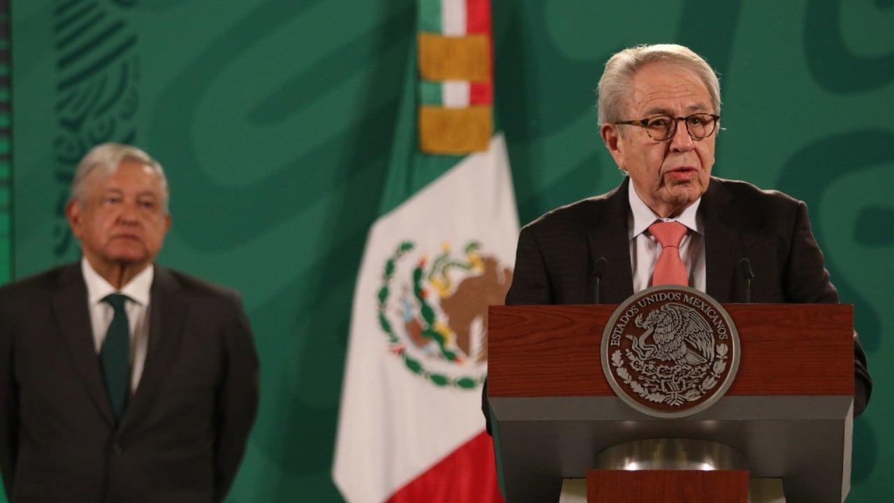 Jorge Alcocer en la conferencia matutina