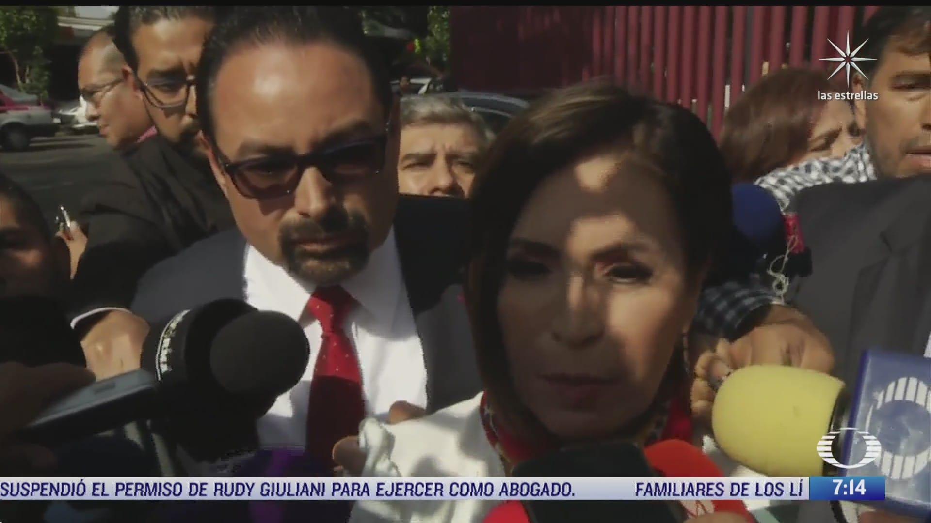 juez ordena revisar prision preventiva contra rosario robles