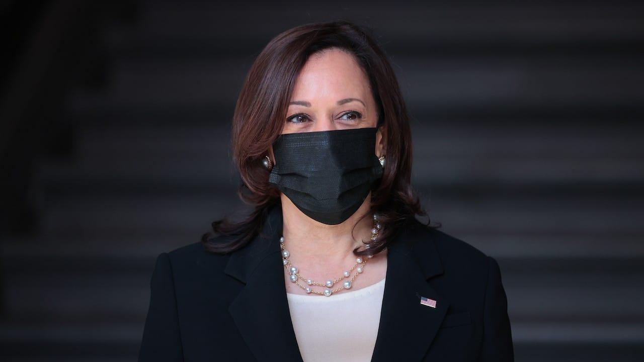 La vicepresidenta de Estados Unidos, Kamala Harris (Getty Images)