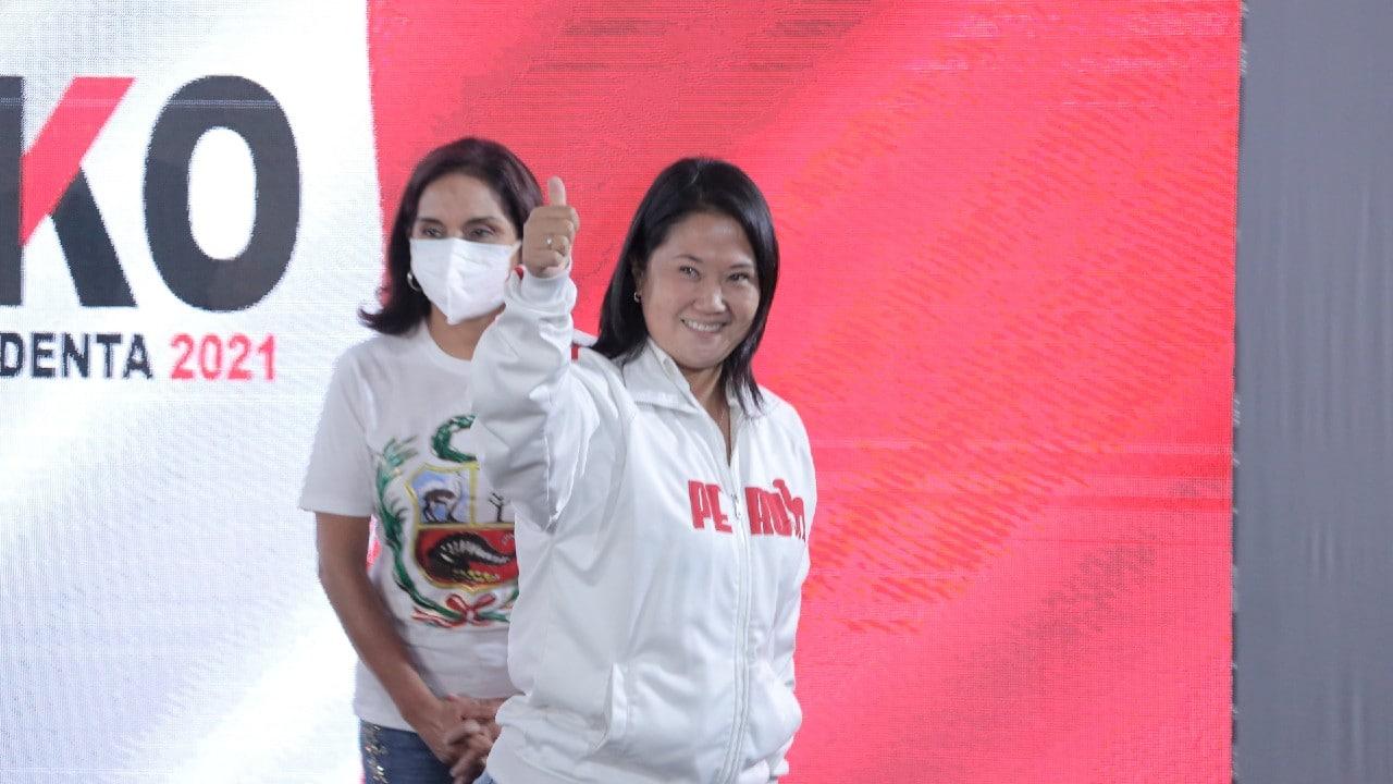 Keiko Fujimori a la cabeza en Perú, según primeros resultados oficiales