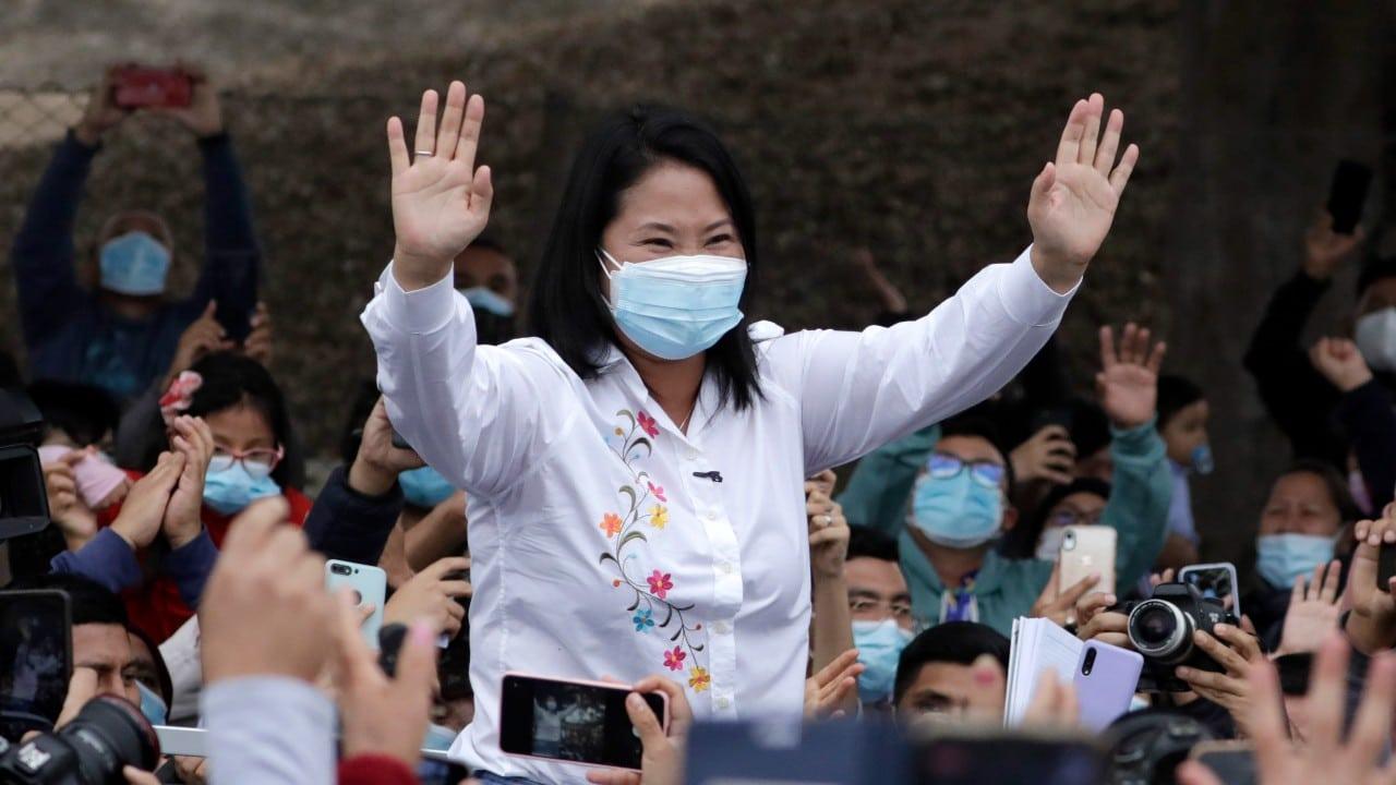 Keiko-Fujimori-aventaja-elección-presidencial-en-Perú