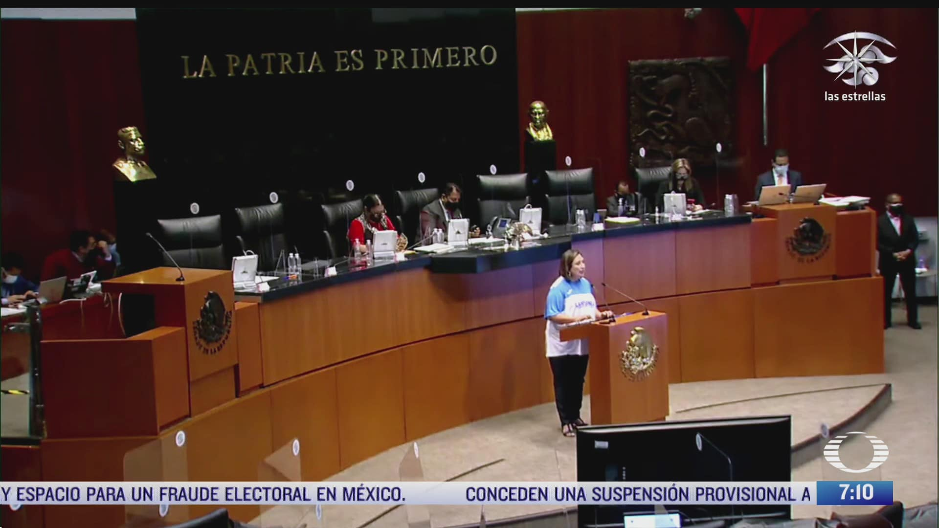 la comision permanente adelanta sesion para no coincidir con cierre de campanas