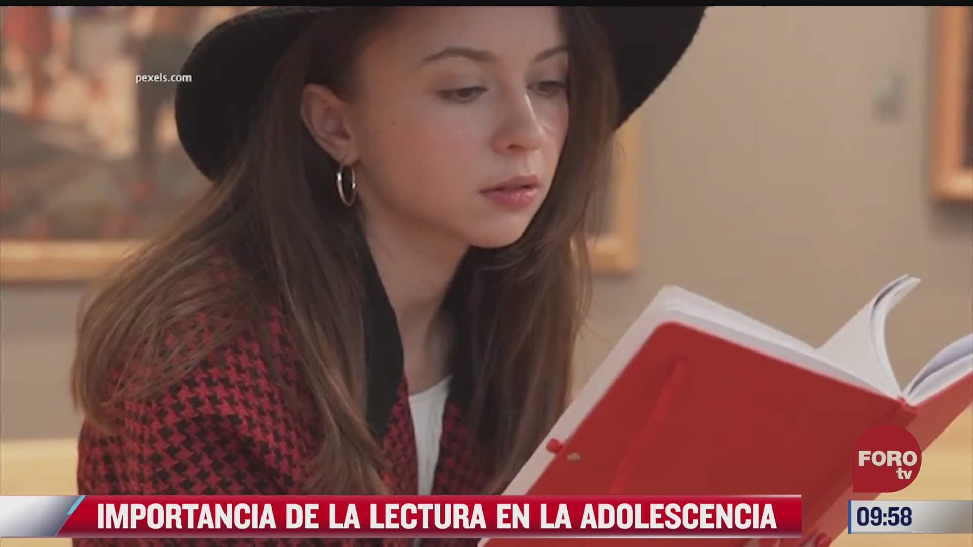 la importancia de la lectura en la adolescencia