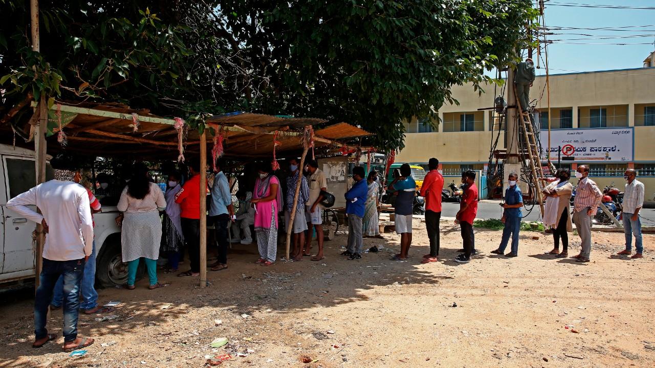 La India cruza los 29 millones de infecciones por coronavirus