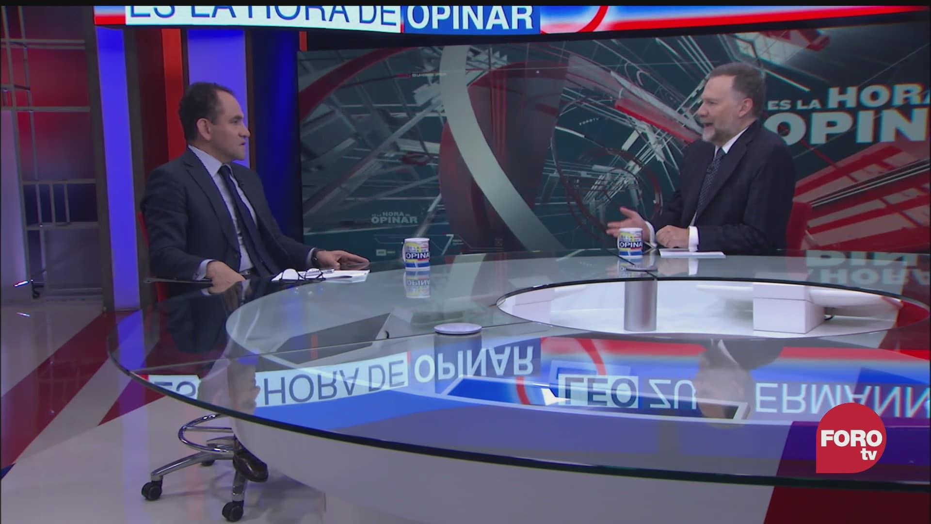 leo zuckermann entrevista a arturo herrera secretario de hacienda