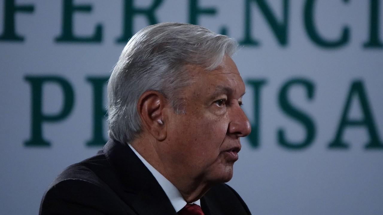 López Obrador en conferencia matutina