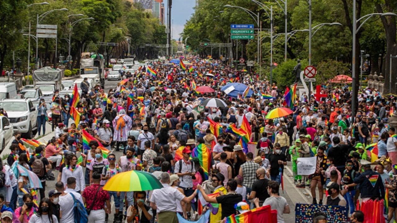 Marcha del Orgullo LGBT+ en la Ciudad de México