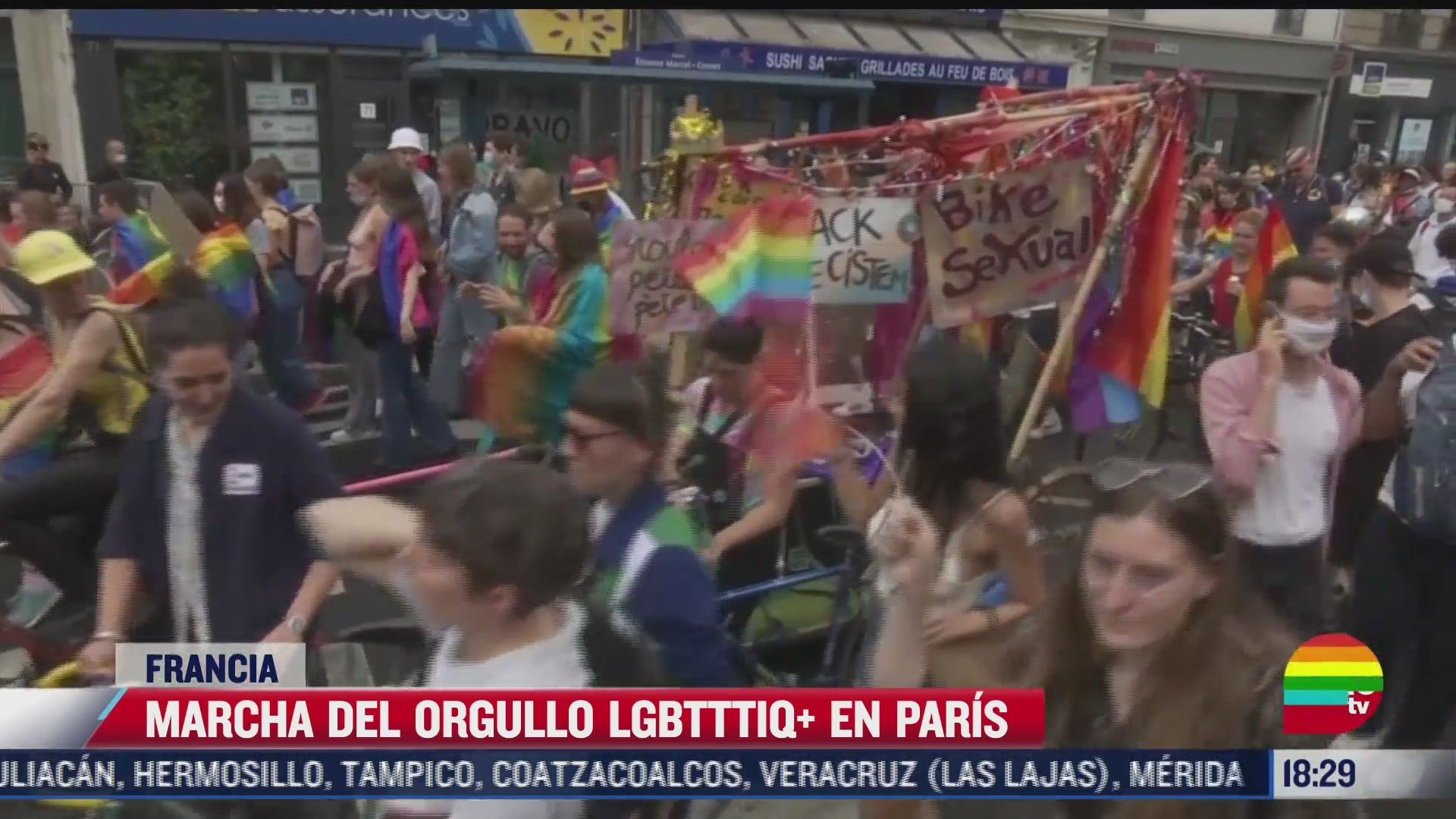 marchan por el orgullo gay en distintos paises del mundo