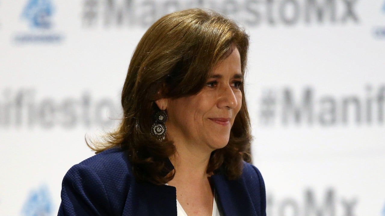 "Margarita Zavala, de la alianza ""Va por México"" (Reuters, archivo)"