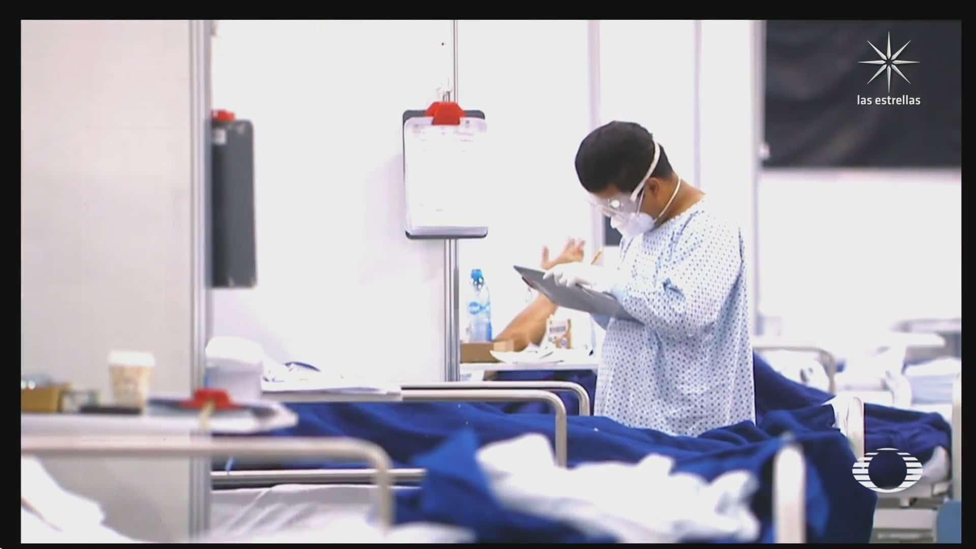 medicos contratados para atender a pacientes covid en centro citibanamex seran reubicados
