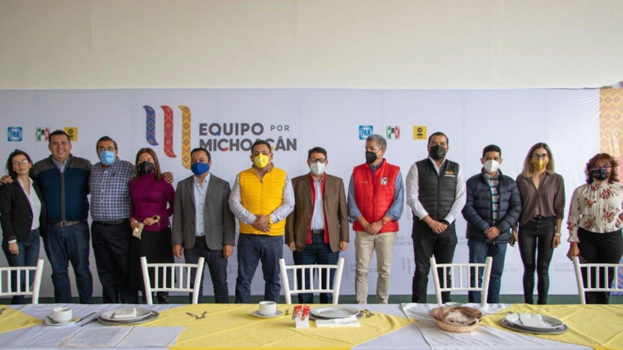 Coordinadores jurídicos del Equipo por Michoacán (Twitter: @MichoacanPRD)