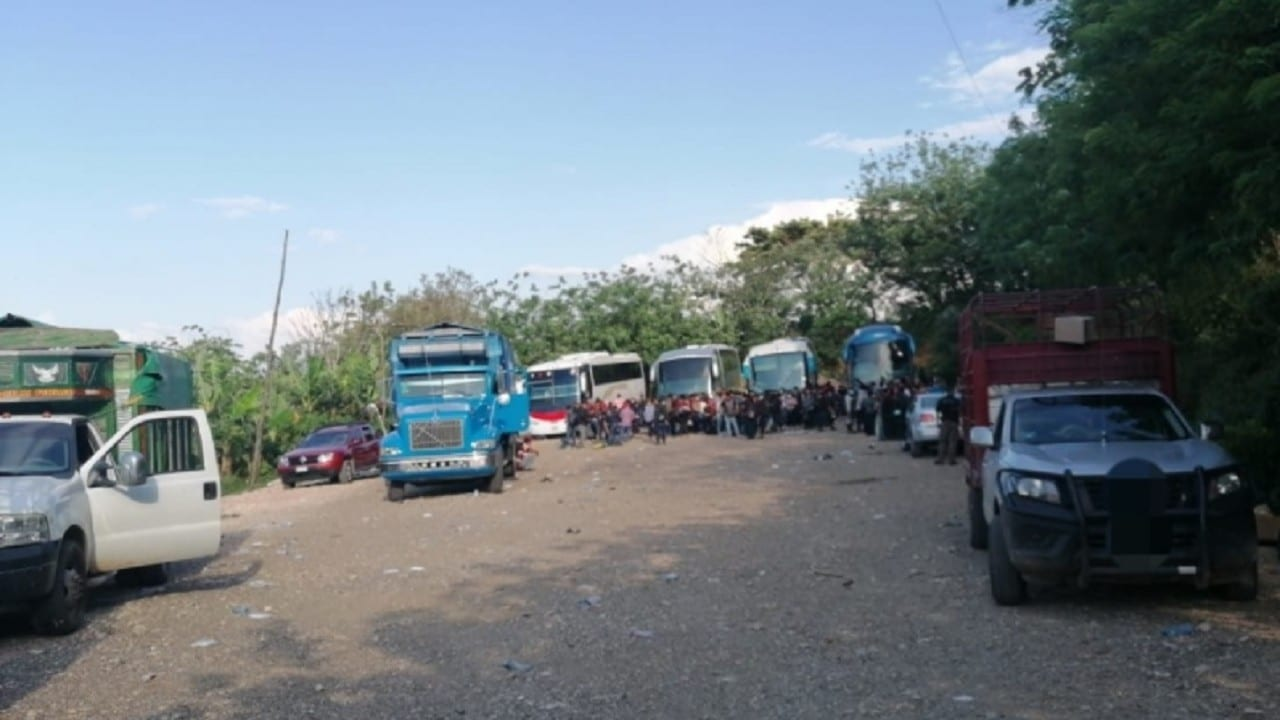 Aseguran-a-194-migrantes-tras-cateo-en-un-predio-en-Chiapas