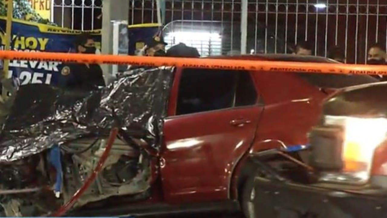 Muere mujer en accidente en Tláhuac