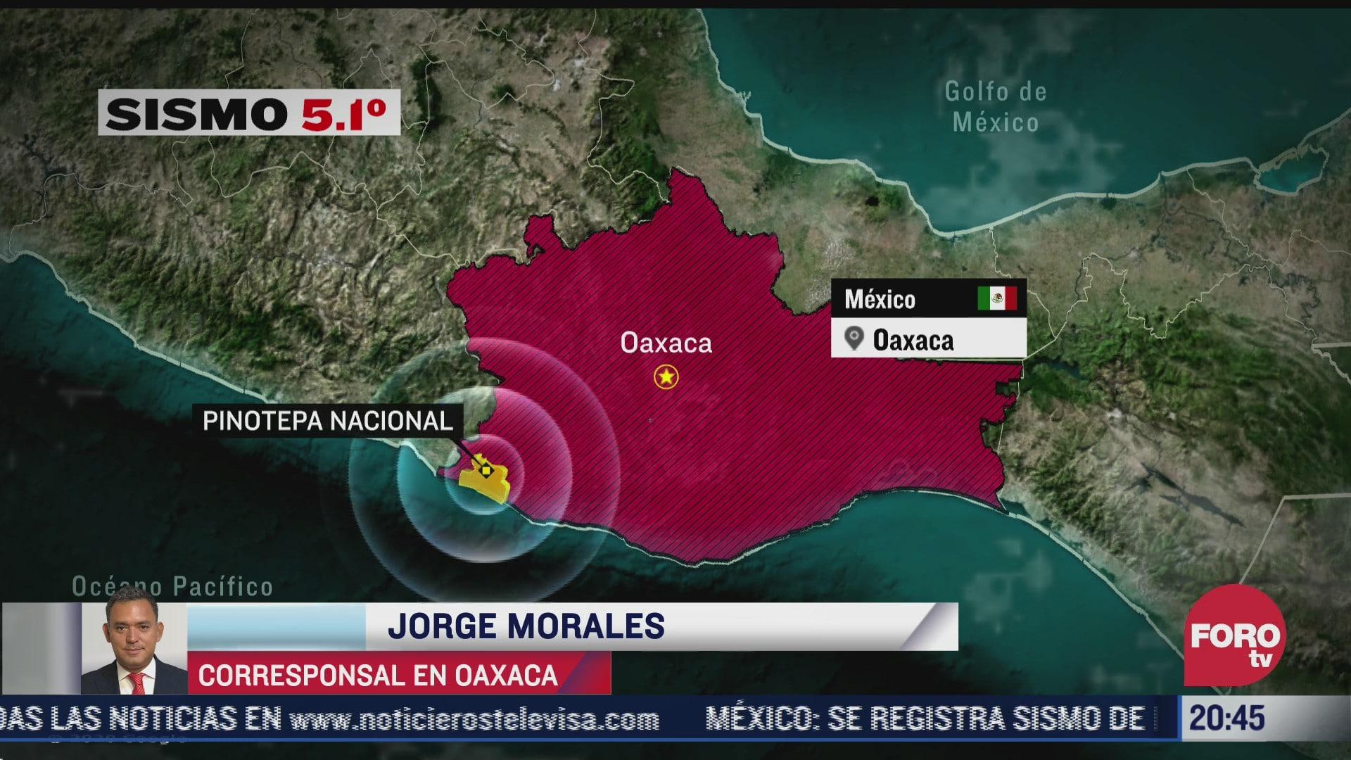 no se reportan personas lesionadas tras sismo en oaxaca