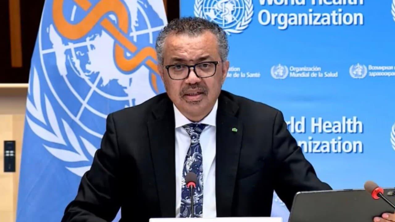 Tedros Adhanom Ghebreyesus, director general de la Organización Mundial de la Salud (Reuters)
