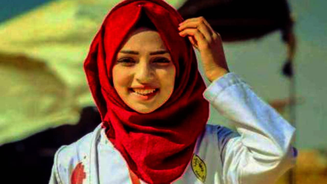Razan al Najjar, Palestina, Israel, Gaza, protestas