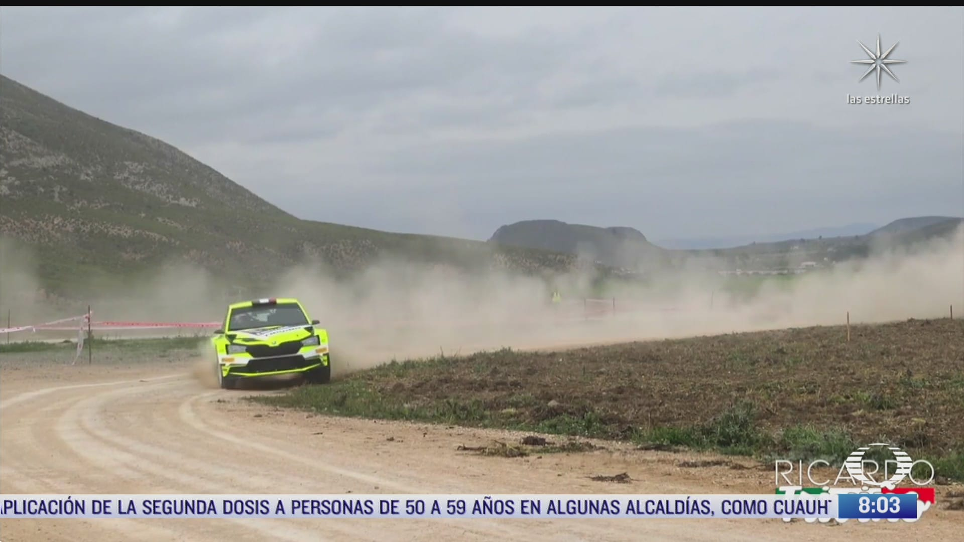 paola rojas entrevista al piloto mexicano ricardo trivino